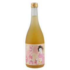 日本进口纪伊纯正梅酒730ml