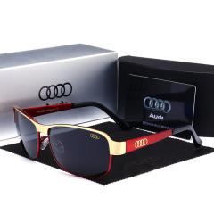 奥迪汽车太阳镜男Audi四环车标志司机驾驶镜偏光眼镜AD554