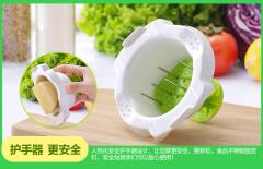 美之扣 01050038 多功能切丝切片器 带护手切菜机器 绿色5件套