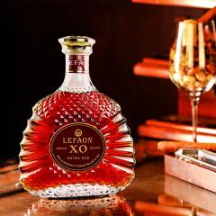 酒庄直供法国原瓶进口利枫金钻XO白兰地700ml礼盒装
