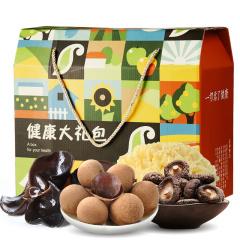 美农美季 健康大礼包 干货礼盒 1250g (桂圆干、黑木耳、香菇、银耳)