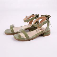 儿童凉鞋2020夏季新款时尚淑女女孩凉鞋韩版露趾女童沙滩鞋中大童