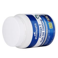 新西兰好健康Goodhealth深海鱼油胶囊富含DHA 400粒
