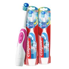 高露洁(Colgate)360全面口腔清洁电动牙刷*2