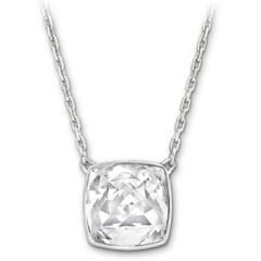 施华洛世奇Swarovski透明方形水晶项链1169499