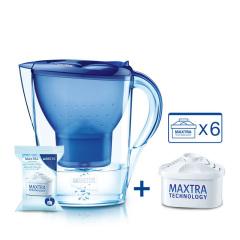 brita碧然德滤水壶marella 3.5l家用净水器净水壶一壶6芯