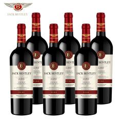 宾利爵卡爵士干红葡萄酒法国原瓶进口6支礼盒装