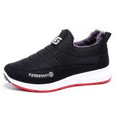 老北京布鞋棉鞋冬季高帮加绒保暖男鞋防滑加厚