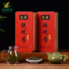 【春茶节】中国农垦 新茶上市 广西 大明山 一级铁观音255g/罐*2 乌龙茶 清香型茶叶