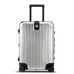 利马赫/LIEMOCH 爱顿air 铝镁合金拉杆箱20寸 蓝牙智能报警万向轮登机箱