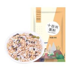 姚朵朵十谷米粥料100g*5袋  粗粮十谷米早餐粥精美袋装