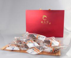 鑫玉龙(xinyulong)大连鲜食海参 900g 30支 礼盒装 固形物不低于95%