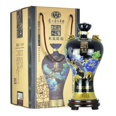 贵州茅台集团财溢人生福临门1979蓝色 2.5L大坛子酒 52度浓香型白酒