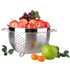 SIMELO 施美乐不锈钢果篮 沥水篮24CM优质不锈钢