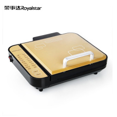 荣事达(Royalstar)多功能电饼铛RSD-BF282 黄色  悬浮式煎烤