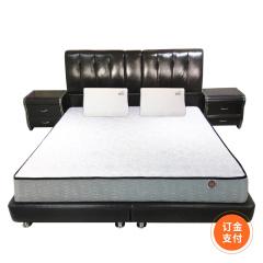 DELANDIS真皮软床1.5米订金 货号121058