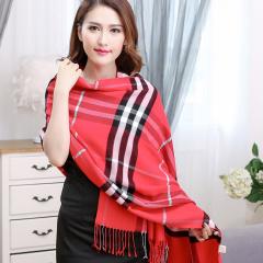 2016韩版围巾女羊毛保暖围巾 秋冬季新款巴巴格时尚流苏披肩 包邮