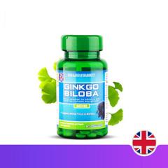 英国HB荷柏瑞银杏营养胶囊60mg*60粒健脑补脑促进记忆