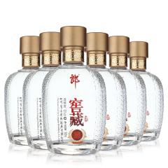 2012年老酒郎酒窖藏吉品52度浓香型白酒整箱 500ml*6