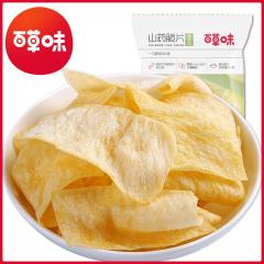 百草味 山药片(香葱味)45g*6包装