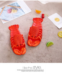 2020新款时尚个性龙虾拖鞋