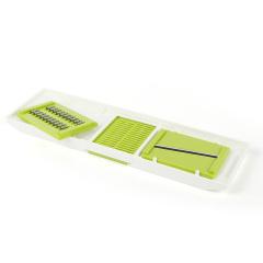 美之扣 切丝切片器3刀片装 多功能切丝切片料理器 刨丝切菜器3刀片装