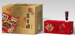 贵州特产瓶装酱香醋喜香醋金沙纯粮酿造特级醋