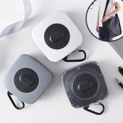 创意礼品时尚旋转折叠收纳购物袋【颜色随机发货】