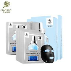 小园 水光玻尿酸保湿透亮面膜 25ml*10片两盒装