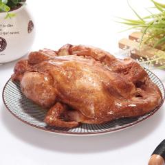 【知名特产】德州 沈氏 扒鸡 600g*4只量贩装(每只都是整鸡 拒绝拼装)