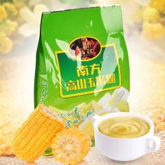 南方未加糖高山玉米糊600g 粗粮五谷杂粮粥冲泡粉代餐粉早餐食品