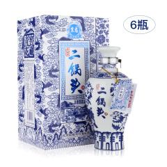 北京二锅头青花窖藏52度清香型白酒500ml
