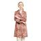 英国Afayedi时尚印花系带风衣