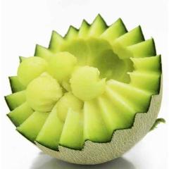 山东海阳 网纹瓜 现摘现发 新鲜当季水果 2个装 (约3.5-4斤)