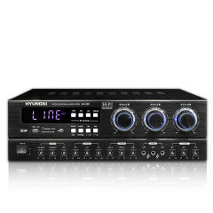 韩国现代家庭影院功放机 专业卡拉OK音响功率放大器
