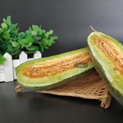 山东羊角蜜甜瓜 5斤装 新鲜采摘