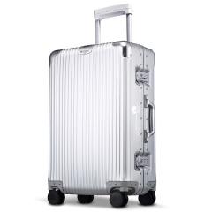 利马赫/LIEMOCH刻字定制智能拉杆箱 高端金属商务行李登机箱