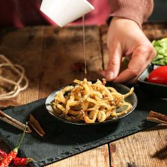 采小海 原味蜜汁烤鳗鱼丝128g罐装海味即食鱼干休闲小吃特产零食