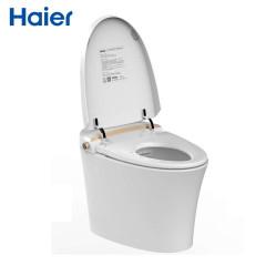 海尔(Haier)智能马桶无水箱即热式一体式自动冲水智能遥控马桶坐便器 H2 400坑距