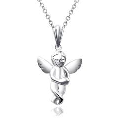 DODOBEL WOMAN 925银首饰天使吊坠 附送项链