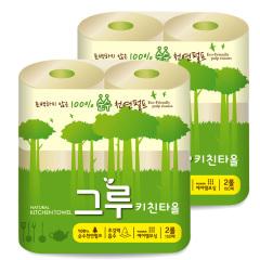 韩国原装进口木之惠Greu厨房用纸2提装