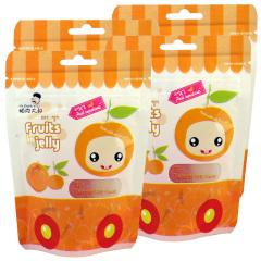 韩国进口帕克大叔橘子味果汁软糖4袋装