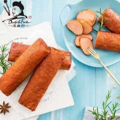道台府五香肉卷肠200g/袋东北特产零食小吃 肉仟子豆干 口感柔韧 非 红肠