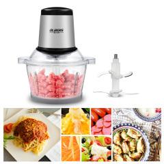 奥尔贝斯绞肉机 全自动厨房家用电动搅肉机 不锈钢杯 玻璃杯