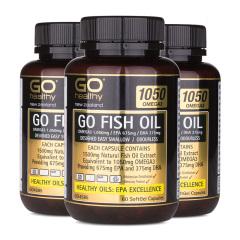 新西兰GO HEALTHY鱼油健康组 货号122877