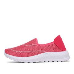 夏季网鞋女透气网面舒适运动鞋女厂家直销老北京布鞋休闲鞋老人鞋