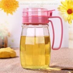 玻璃防漏油壶 控油调料瓶无铅食品级酱油醋瓶买一送一