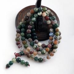 DODOBEL WOMAN天然水胆玛瑙108粒手链