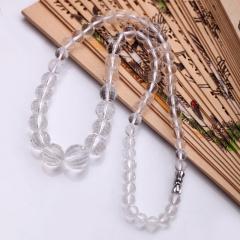 DODOBEL WOMAN天然白水晶项链